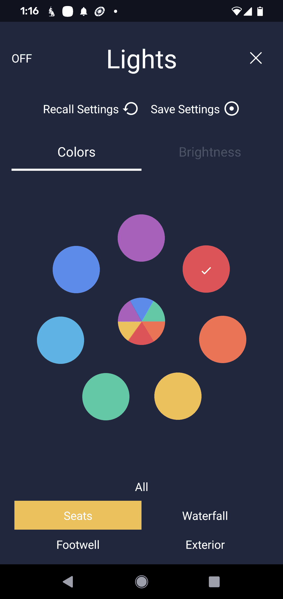SmartTub Colors