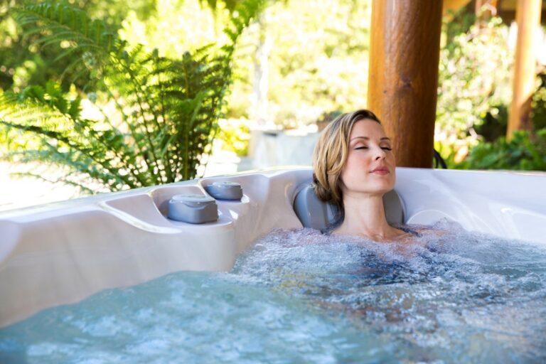 Easing Headache Pain with a Hot Tub