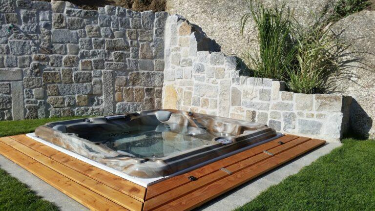 outdoor sundance spas hot tub installation Kitchener waterloo