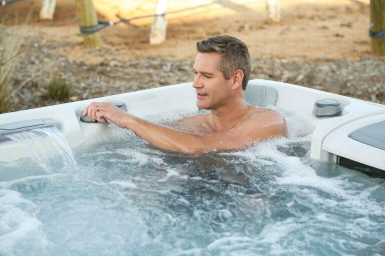 Sundance Spas 880 Series Optima hot tub installation in Kitchener Waterloo